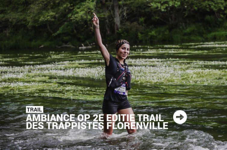 Ambiance op 2e editie Trail des Trappistes in Florenville