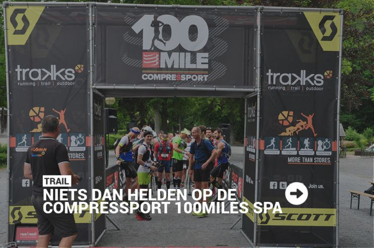 20 heroes in de 1ste Compressport 100mile SPA